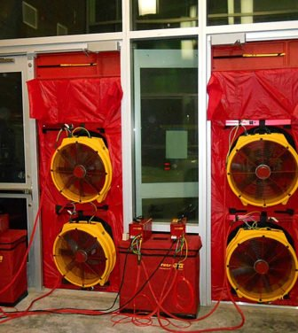 test de hermeticidad Blower Door